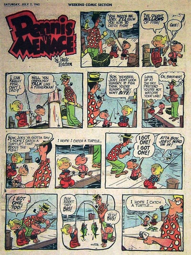 Hank Ketcham et Dennis the Menace ( Denis la Malice ) - Page 2 Dennis27