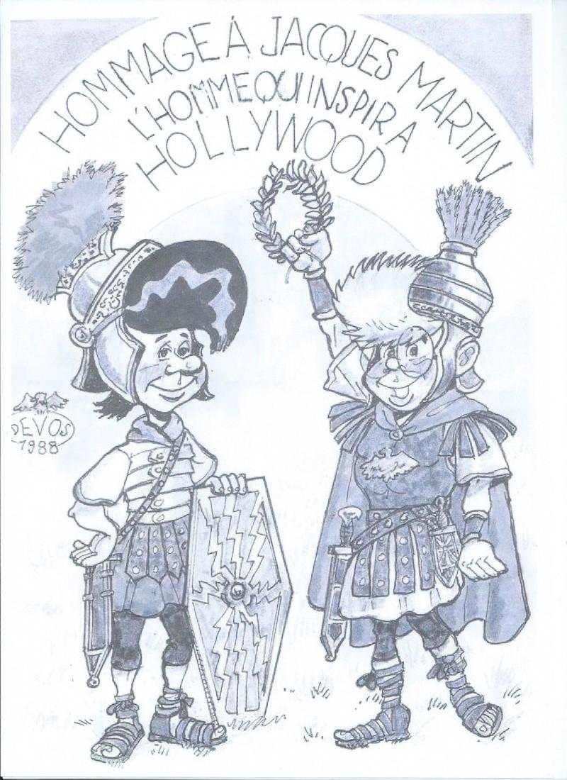 Les hommages entre les dessinateurs Devosm10