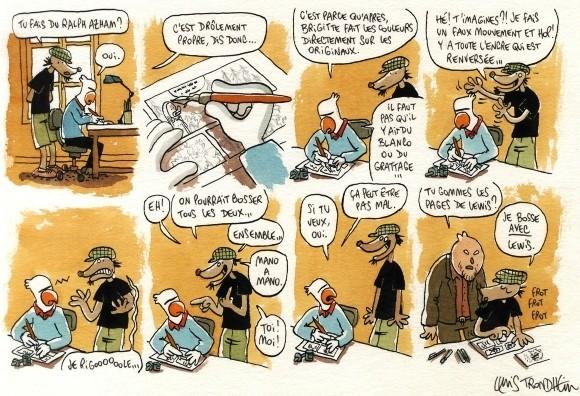 Lewis Trondheim et les fausses confidences Trondh11