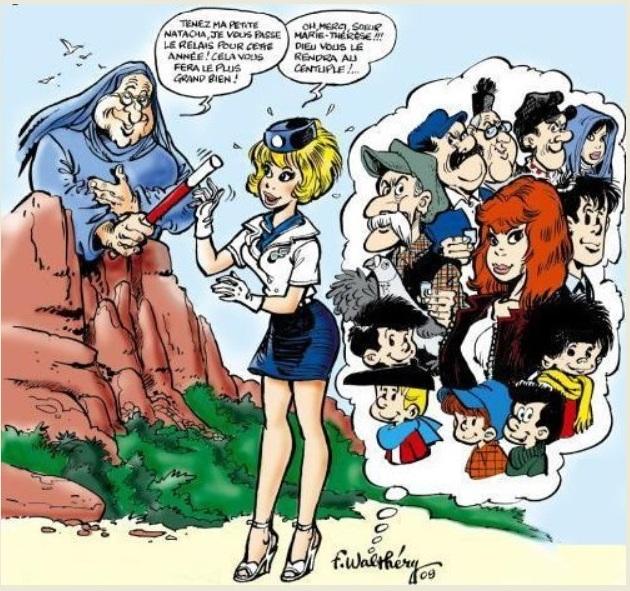 Les hommages entre les dessinateurs - Page 2 Walmae10