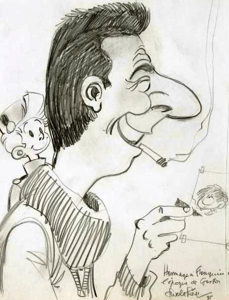 Les hommages entre les dessinateurs Walthe10