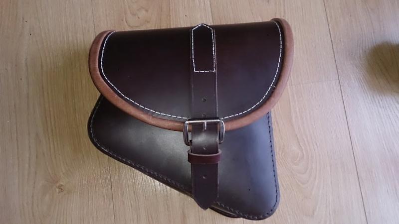 Fabrication d'une sacoche en cuir latéral pour sportster   Dsc_1120