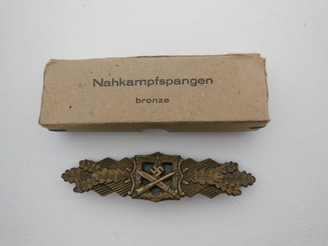 Barette des corps à corps - classe bronze - AGMUK (dans sa boîte cartonnée) Resize15