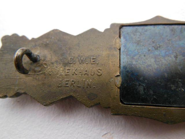 Barette des corps à corps - classe bronze - AGMUK (dans sa boîte cartonnée) Resize19