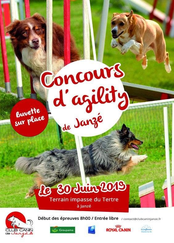 Stand au concours d'Agility du club canin de Janzé le 30 juin 2019 61331210