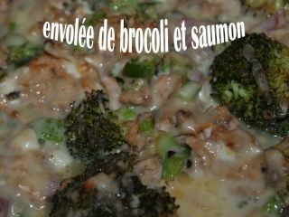 Envolée de brocoli et saumon à la Chocolatine Envole10
