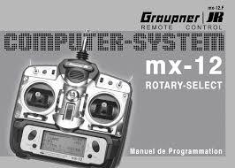 Emetteur GRAUPNER MX12 en 41Mhz pour 25 Euros  Emette10