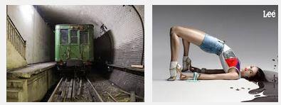 Juxtapositions oulipiennes d'images - Poésie des contrastes Arcs10