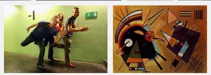 Juxtapositions oulipiennes d'images - Poésie des contrastes Captur15