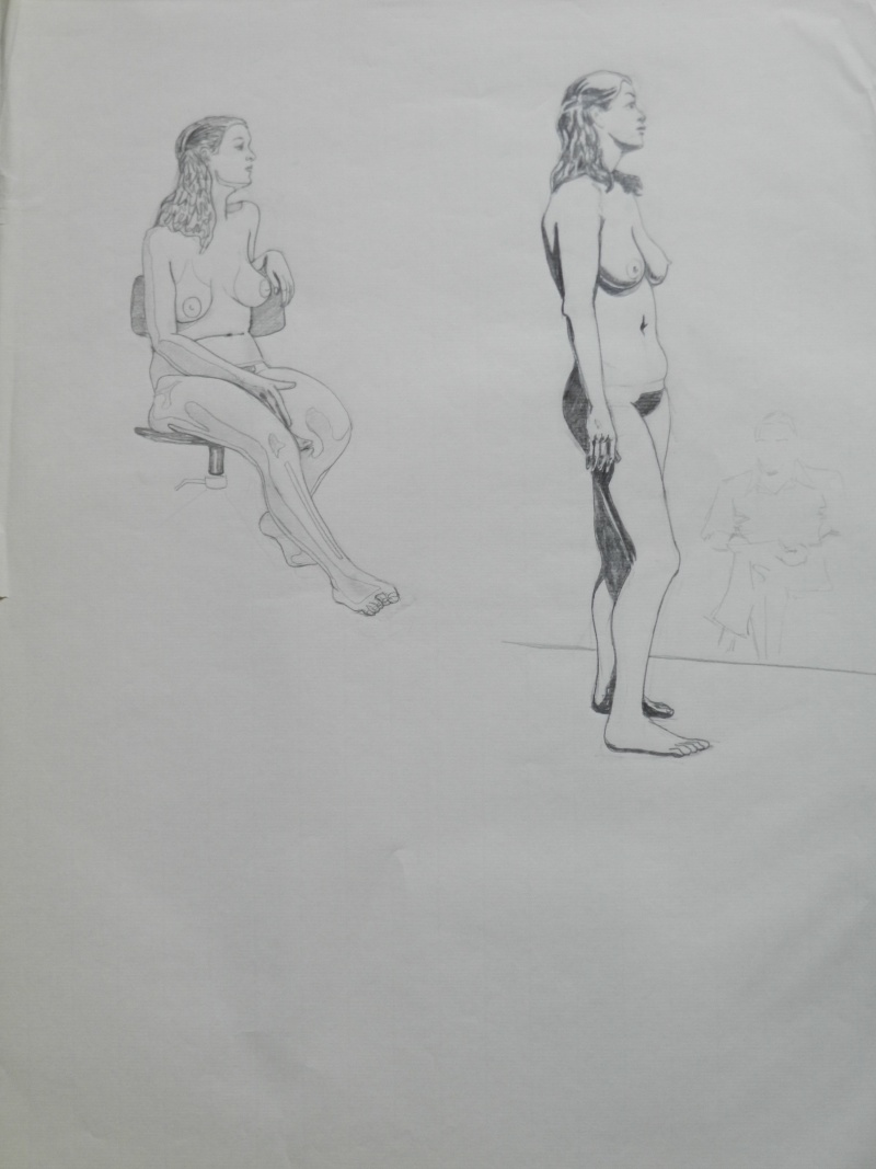 Ulysse 92 - dessins de nus 1983 Dessin11