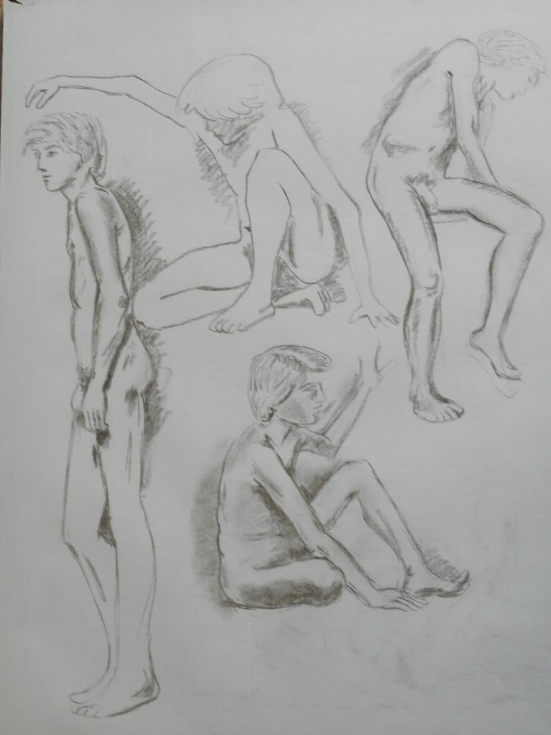 Ulysse 92 - dessins de nus 1983 Dessin15
