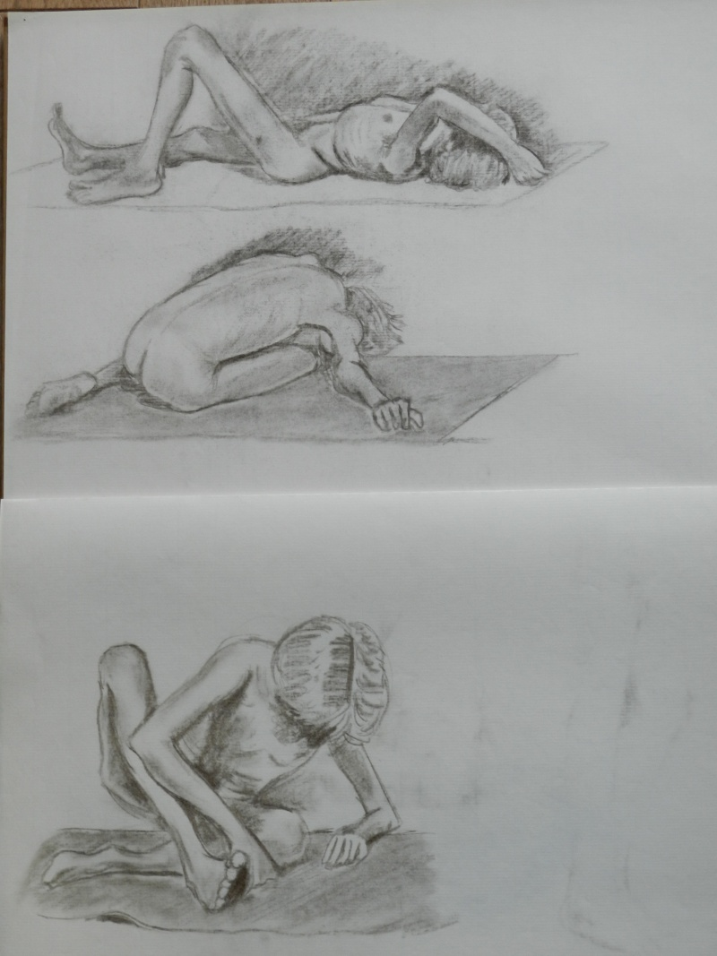 Ulysse 92 - dessins de nus 1983 Dessin16