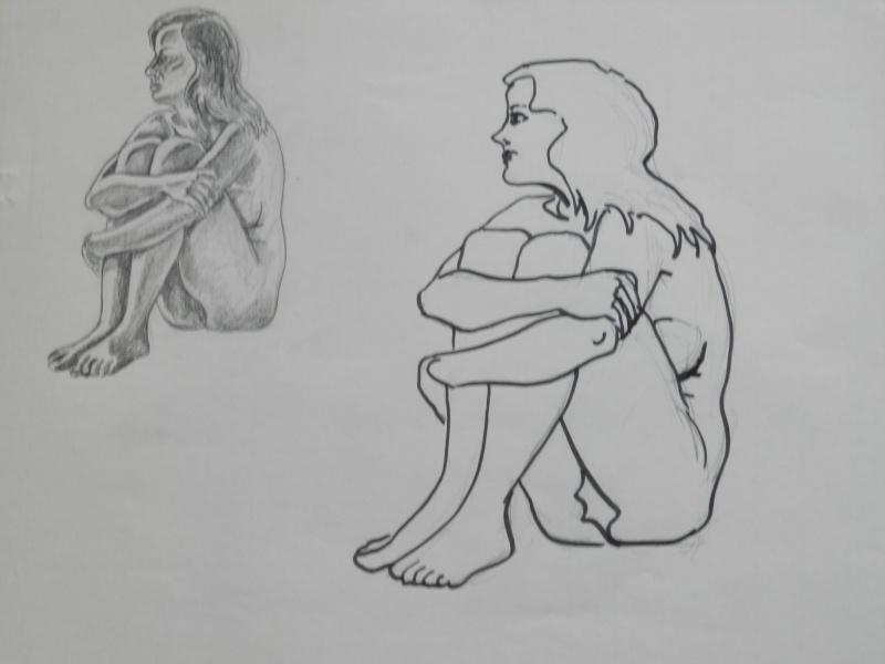 Ulysse 92 - dessins de nus 1983 Dessin19