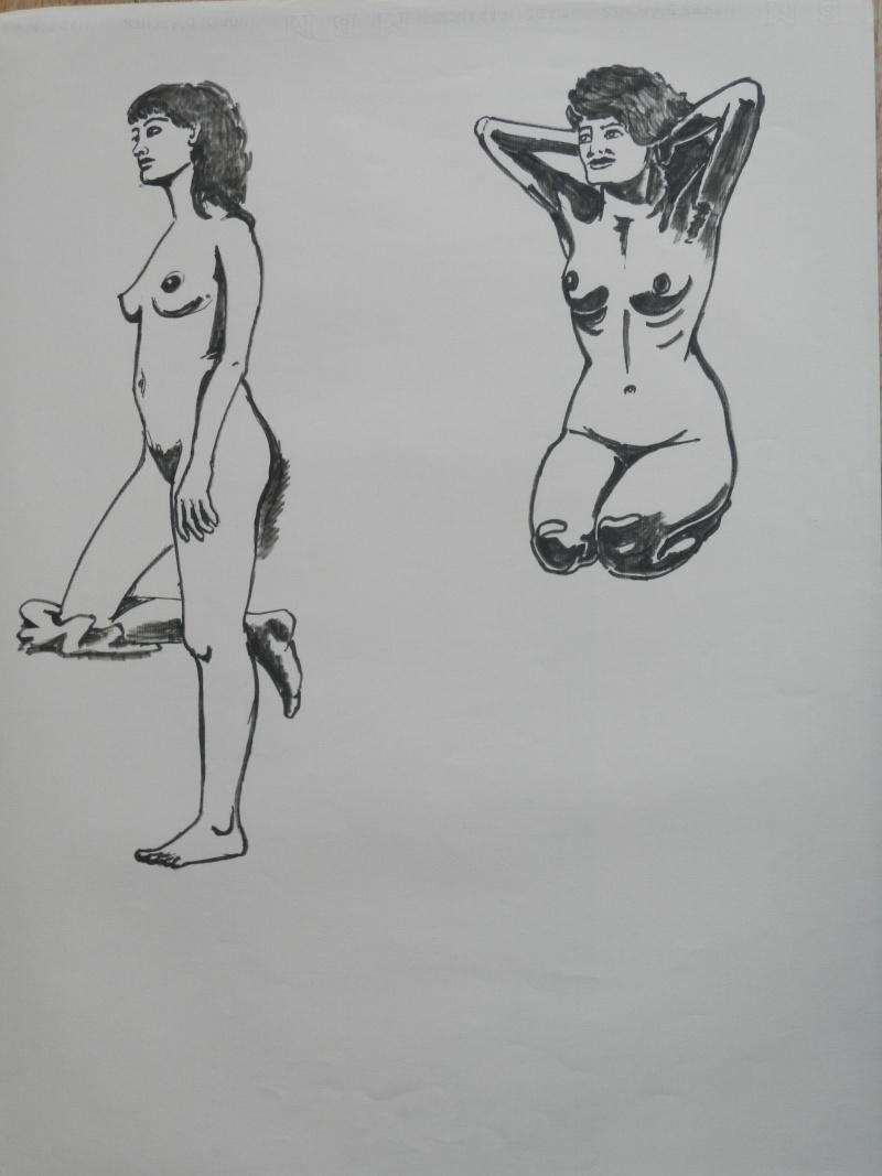 Ulysse 92 - dessins de nus 1983 Dessin21