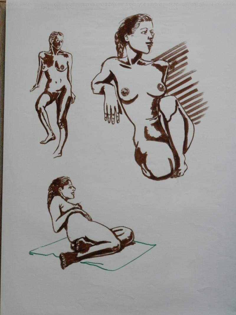 Ulysse 92 - dessins de nus 1983 Dessin22