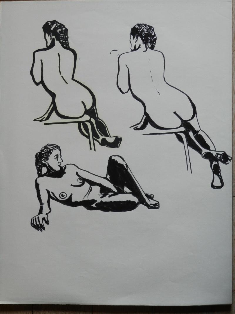 Ulysse 92 - dessins de nus 1983 Dessin23