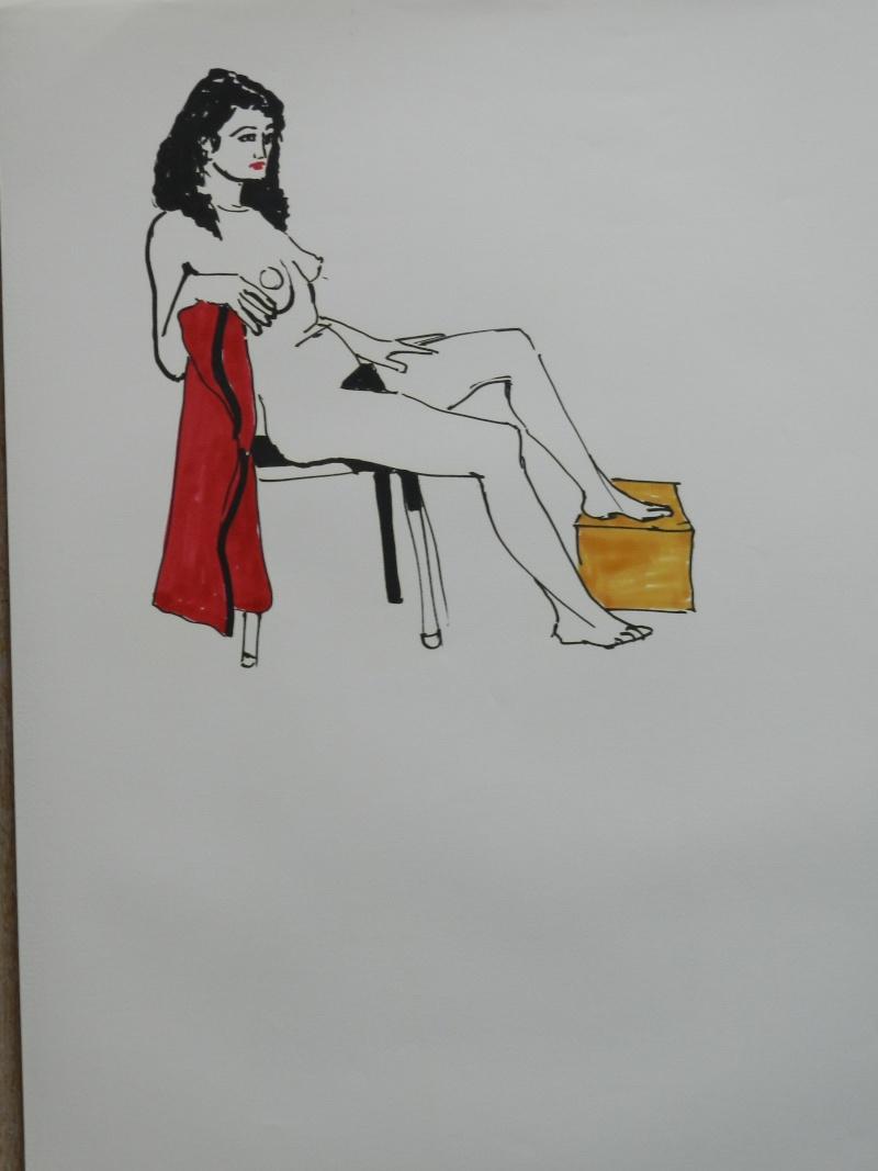 Ulysse 92 - dessins de nus 1983 Dessin24