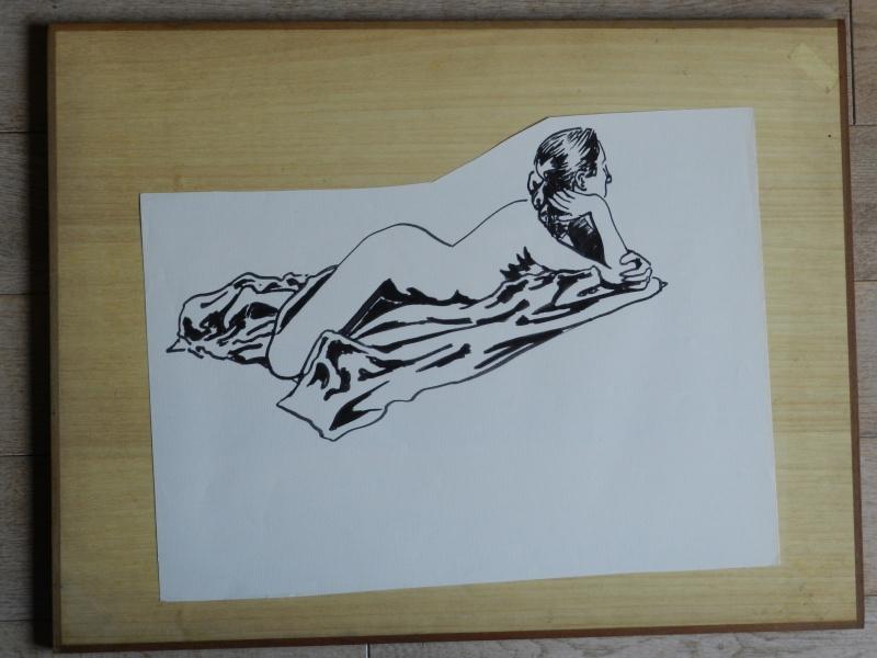 Ulysse 92 - dessins de nus 1983 Dessin26