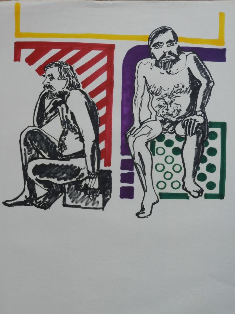 Ulysse 92 - dessins de nus 1983 Dessin27