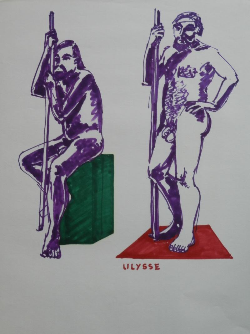 Ulysse 92 - dessins de nus 1983 Dessin29