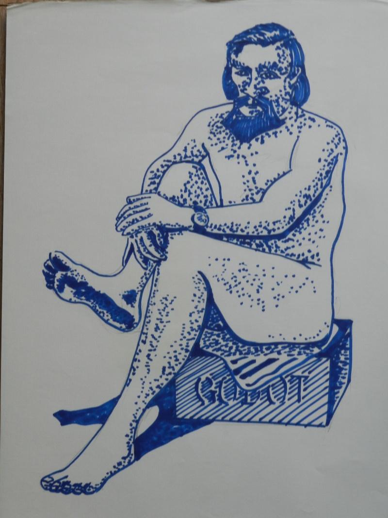 Ulysse 92 - dessins de nus 1983 Dessin31
