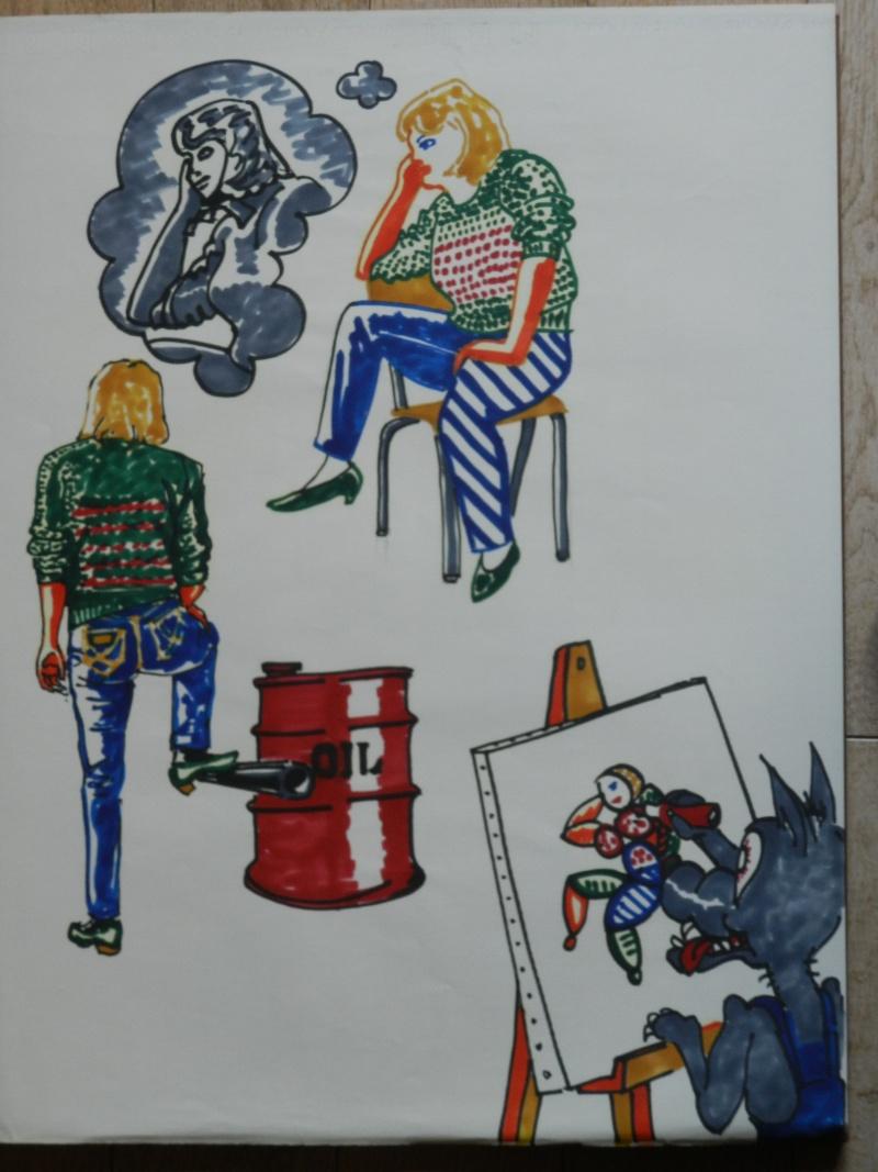 Ulysse 92 - dessins de nus 1983 Dessin35