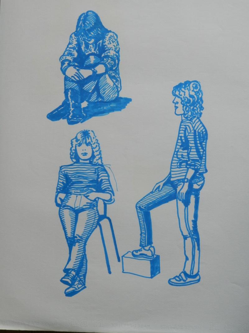 Ulysse 92 - dessins de nus 1983 Dessin37