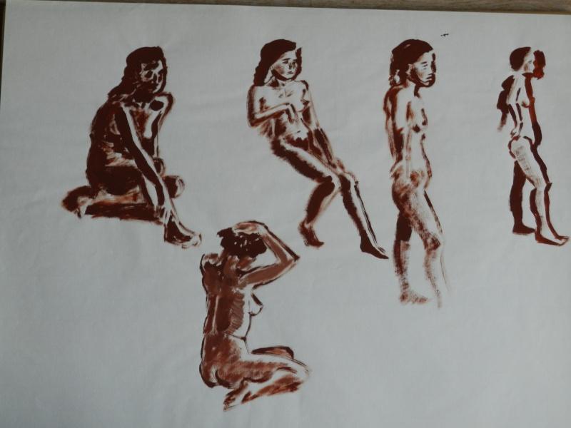 Ulysse 92 - dessins de nus 1983 Dessin39