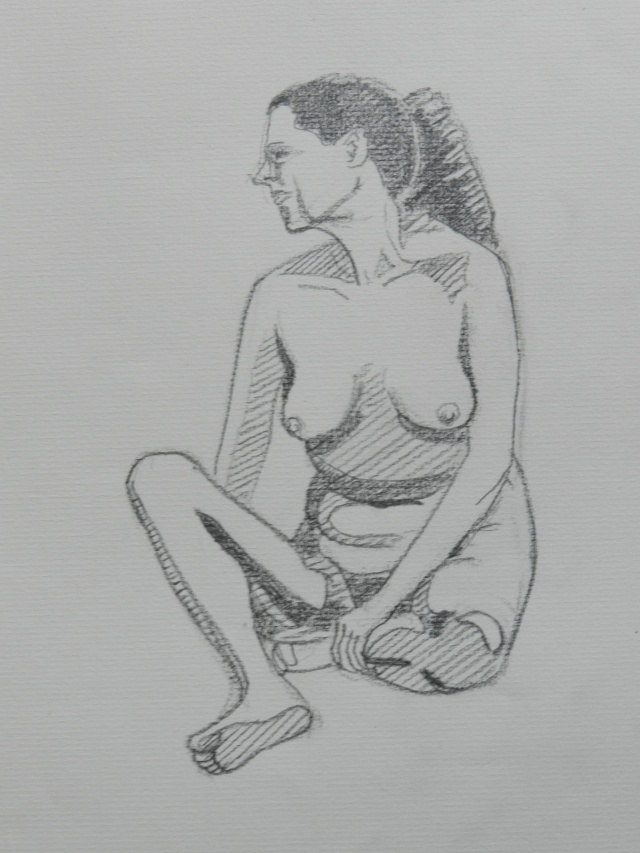 Ulysse 92 - dessins de nus 1983 Dessin40