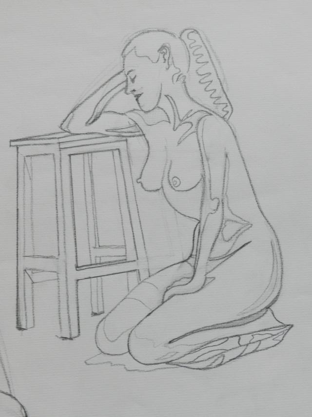 Ulysse 92 - dessins de nus 1983 Dessin41