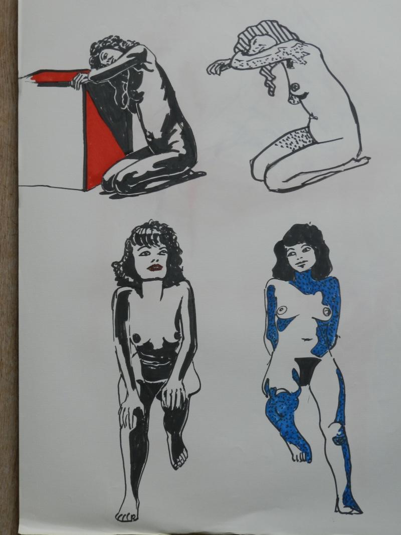 Ulysse 92 - dessins de nus 1983 Dessin42