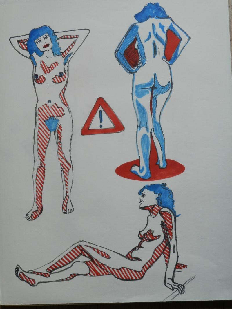 Ulysse 92 - dessins de nus 1983 Dessin44