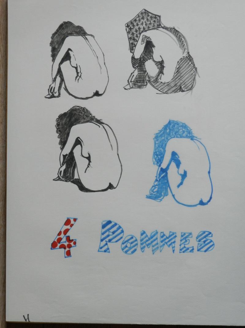 Ulysse 92 - dessins de nus 1983 Dessin47