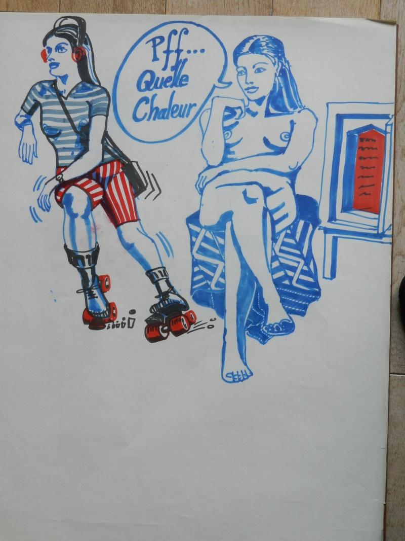 Ulysse 92 - dessins de nus 1983 Dessin48