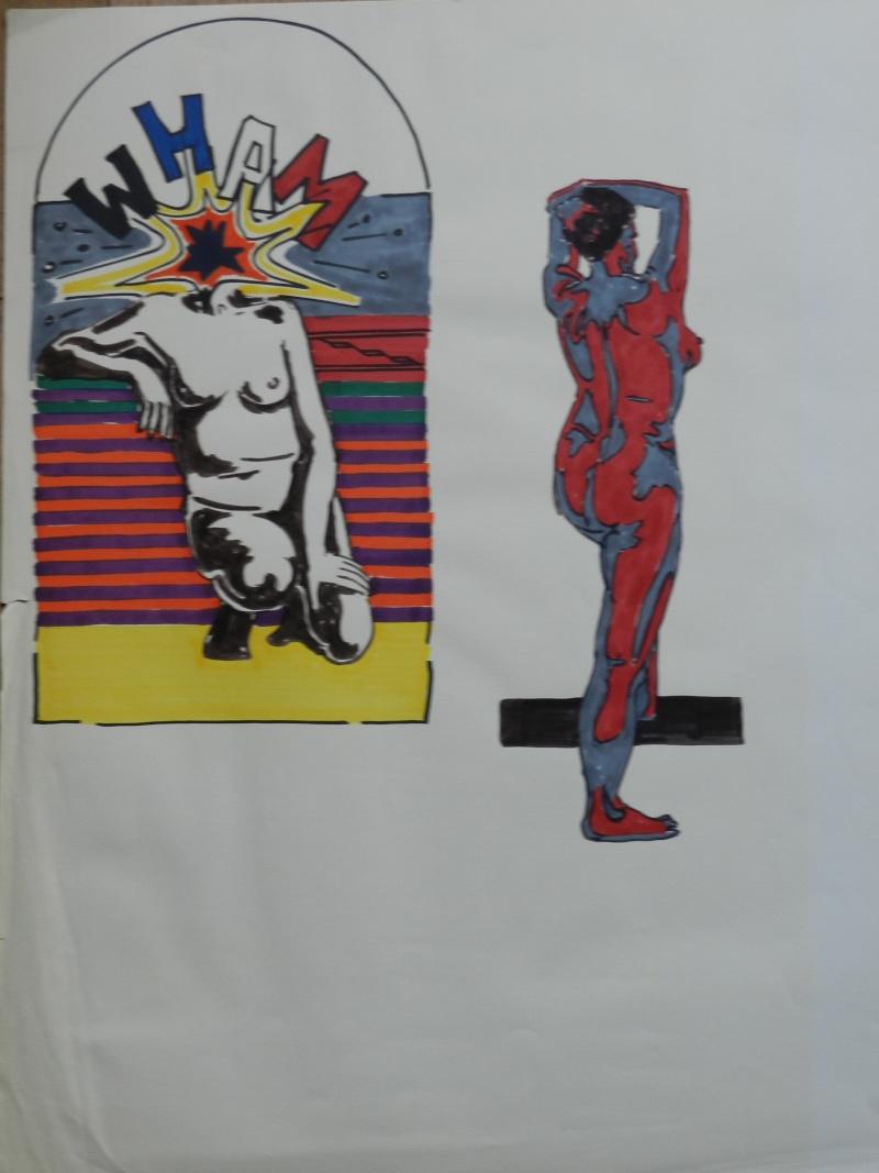 Ulysse 92 - dessins de nus 1983 Dessin52