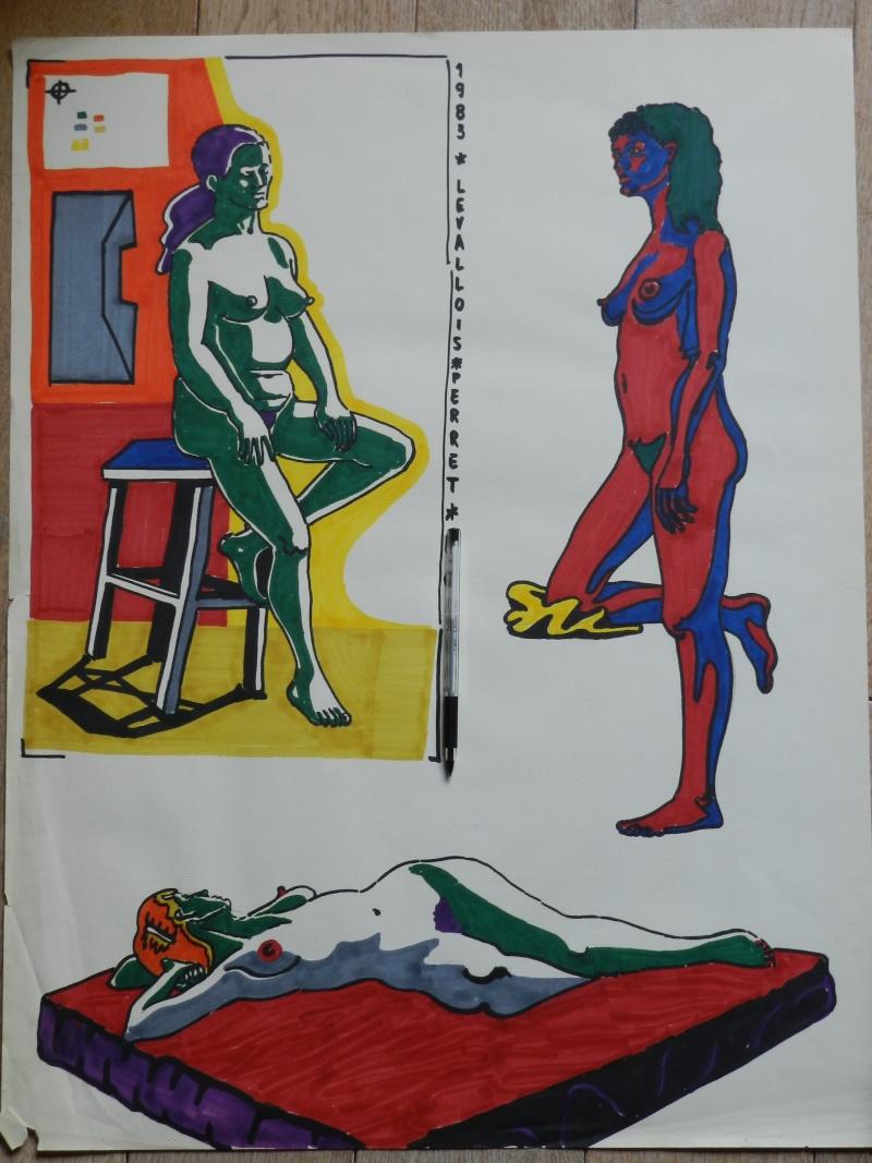 Ulysse 92 - dessins de nus 1983 Dessin53