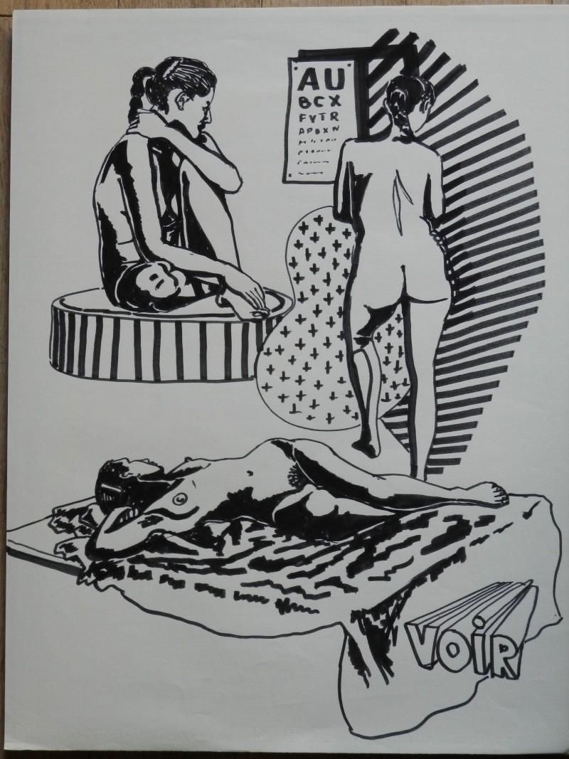 Ulysse 92 - dessins de nus 1983 Dessin56