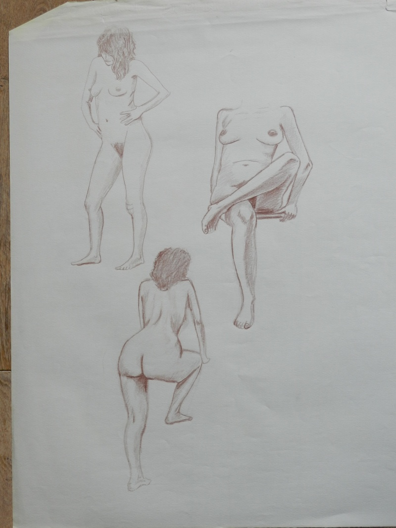 Ulysse 92 - dessins de nus 1983 Dessin57