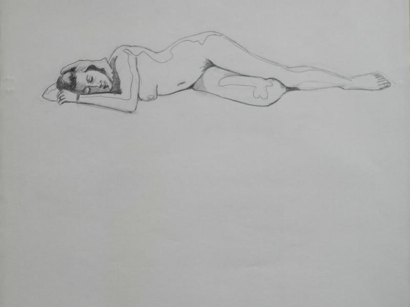 Ulysse 92 - dessins de nus 1983 Dessin58