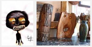 Juxtapositions oulipiennes d'images - Poésie des contrastes Masque10