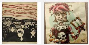 Juxtapositions oulipiennes d'images - Poésie des contrastes Pourpr10