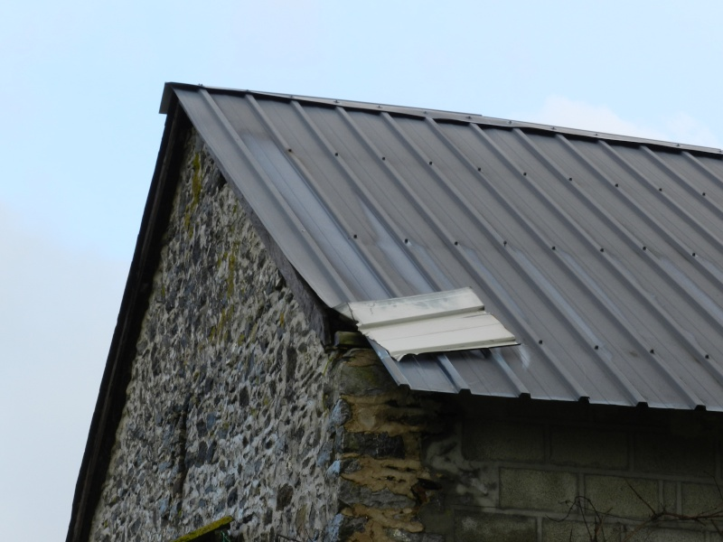 La tempête fragilise les toits alors McGyver doit intervenir Vauvar58
