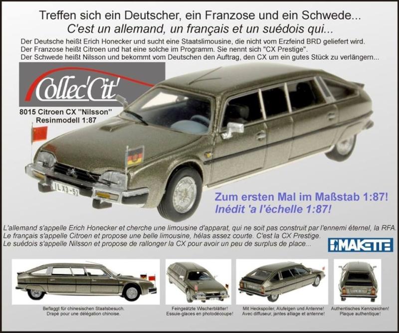 MAKETTE Citroën au 1/87° Cxrda10