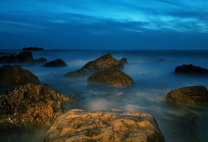 Light painting au Cap d'Antibes P1220011