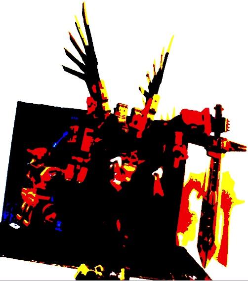 Guerres Transformers! Montrez-moi vos batailles et guerres épiques en photo ici. - Page 9 Deskto16