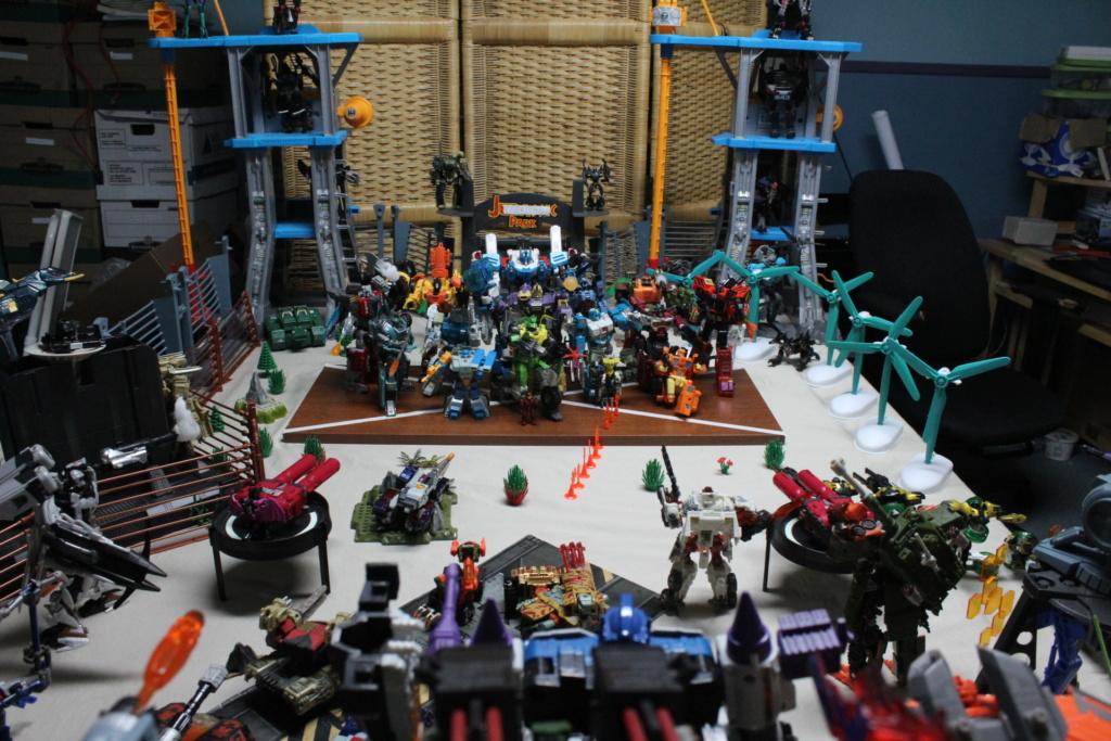 Guerres Transformers! Montrez-moi vos batailles et guerres épiques en photo ici. - Page 8 Img_7910