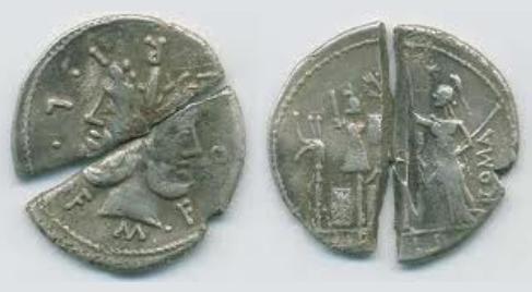 Monedas partidas 168