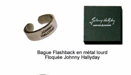 """Bijoux griffés """" Johnny Hallyday """"  43987213"""
