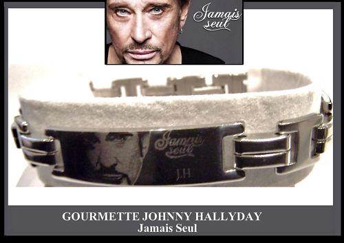 """Bijoux griffés """" Johnny Hallyday """"  Kgrhqj13"""