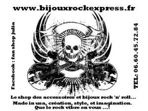"""Bijoux griffés """" Johnny Hallyday """"  Ob_a2e10"""